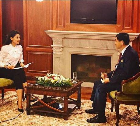 Bo chong Tang Thanh Ha xac nhan chuyen con dau mang bau lan 2 - Anh 1