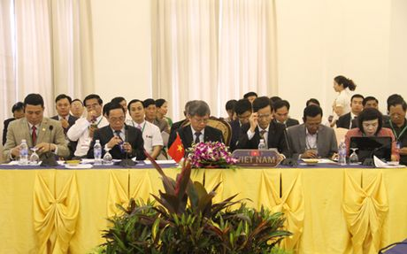 Hoi nghi SOM tam giac phat trien Viet Nam, Lao, Campuchia - Anh 1