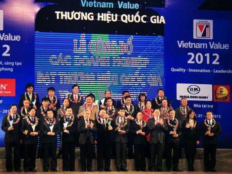 Cong bo 88 doanh nghiep co san pham dat Thuong hieu Quoc gia - Anh 1