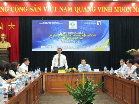 Cong bo 88 doanh nghiep co san pham dat Thuong hieu Quoc gia - Anh 2