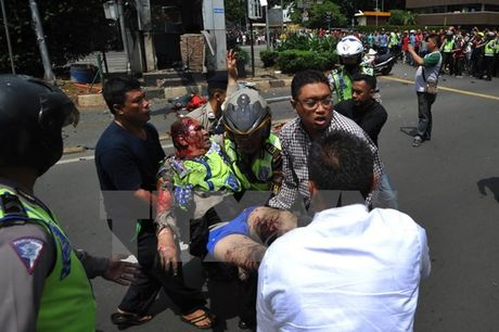 Indonesia ket an phan tu dinh liu den loat vu tan cong o Jakarta - Anh 1