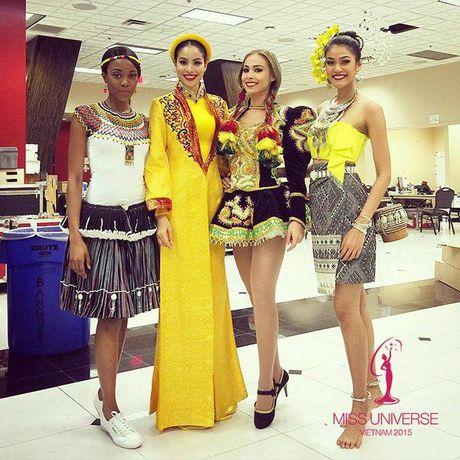 Thong tin moi nhat ve cuoc thi sac dep Miss Universe 2016 - Anh 1