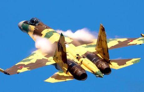 Su-35 kiem tra phong thu NATO, phuong Tay day song - Anh 1