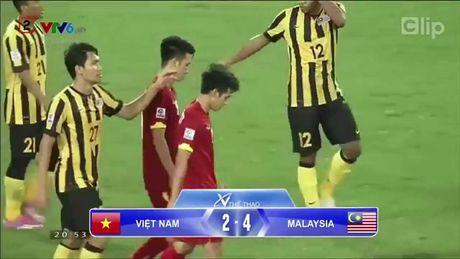 Clip Viet Nam thua 'kho tin' truoc Malaysia tai AFF Cup 2014 - Anh 1