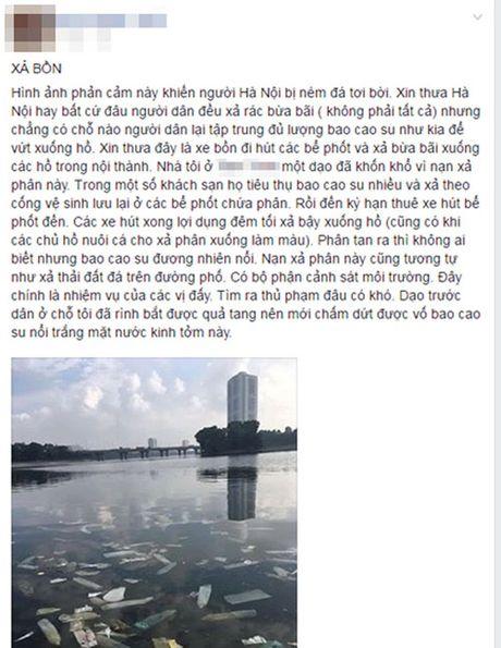 Dieu tra nguyen nhan bao cao su noi trang ho Linh Dam - Anh 2