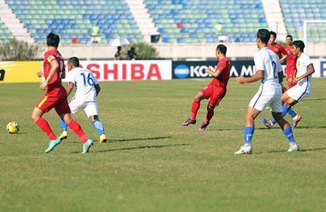 Truc tiep Viet Nam vs Malaysia: Trong Hoang ghi ban thang duy nhat cho Viet Nam - Anh 1