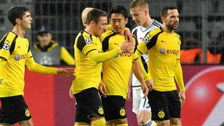 Tran Dortmund - Legia Warszawa co so ban thang cao nhat lich su Champions League - Anh 1
