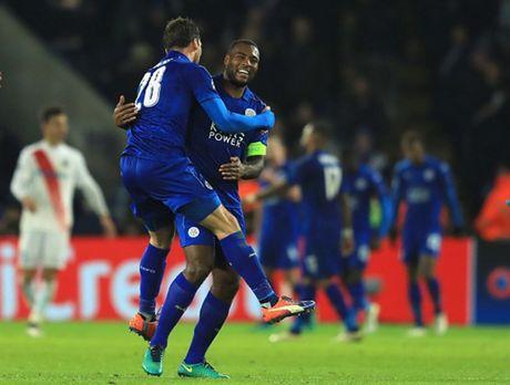 Thang nhe Brugge, Leicester lan dau vao vong 16 doi CL - Anh 9