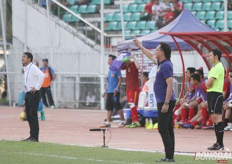 Chum anh: DT Viet Nam 'quat nga' Malaysia gianh ve vao ban ket - Anh 10