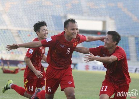 Chum anh: DT Viet Nam 'quat nga' Malaysia gianh ve vao ban ket - Anh 1
