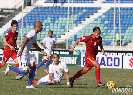 Chum anh: DT Viet Nam 'quat nga' Malaysia gianh ve vao ban ket - Anh 6