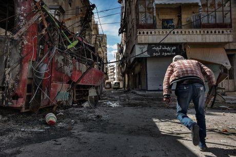 Canh do nat o thanh pho Aleppo trong chien tranh - Anh 2