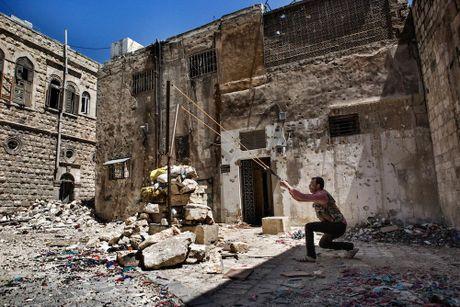 Canh do nat o thanh pho Aleppo trong chien tranh - Anh 4