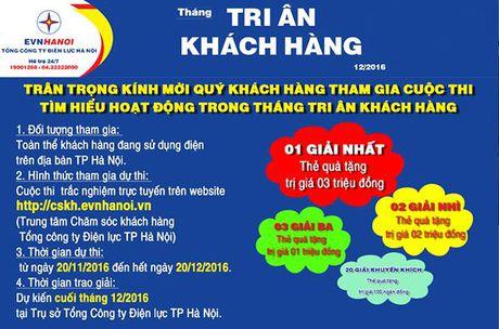 EVN HANOI phat dong cuoc thi tim hieu thang Tri an khach hang - Anh 2