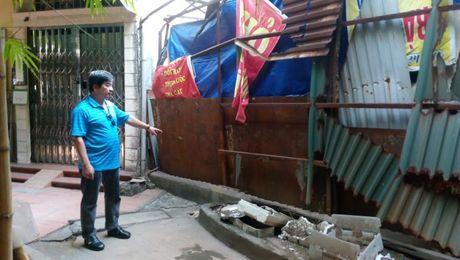 Vi pham xay dung tai so 6 Ly Thuong Kiet – Can giai quyet dut diem - Anh 1