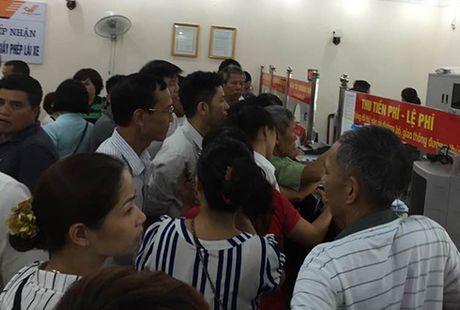 Tong cuc giao thong duong bo 'thuc' tien do doi GPLX - Anh 1