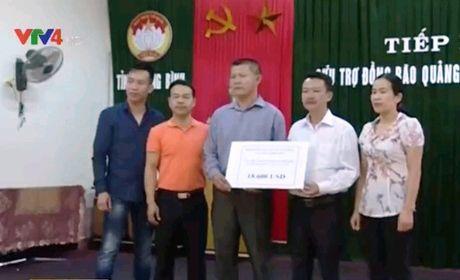 Cong dong nguoi Viet tai CH Czech ung ho vung lu Quang Binh - Anh 1