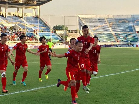 Truc tuyen Viet Nam - Malaysia 1-0: Trong Hoang ghi ban - Anh 10