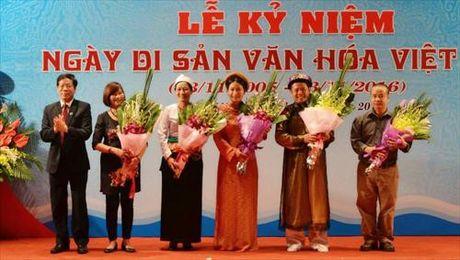 Dac sac chuoi ngay ky niem ngay Di san Van hoa Viet Nam - Anh 2