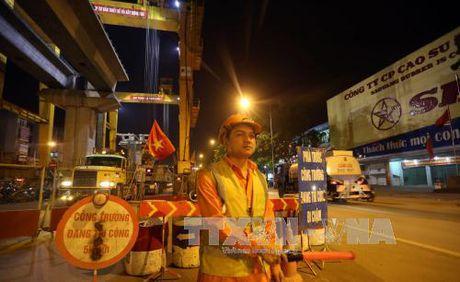 Phan luong giao thong phuc vu thi cong duong sat do thi - Anh 1