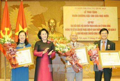 Ton vinh cac dai bieu hoat dong chuyen trach o Trung uong khong tai cu - Anh 1