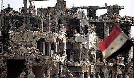 Quan doi Syria dang chiem uu the lon truoc phien quan o dong Aleppo - Anh 1