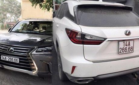 Cong an Quang Ninh noi gi ve 2 xe Lexus mang cung bien tu quy 6666? - Anh 1