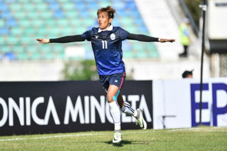 "Tin nhanh AFF Cup: ""Messi Campuchia"" muon loai chu nha Myanmar - Anh 1"