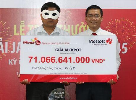 Vietlott cong bo doanh thu khung nham dap tan nghi ngo trao 3 giai xo so tien ty la gia - Anh 1