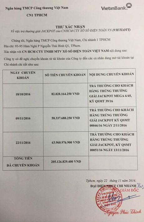 Vietlott cong bo doanh thu khung nham dap tan nghi ngo trao 3 giai xo so tien ty la gia - Anh 2