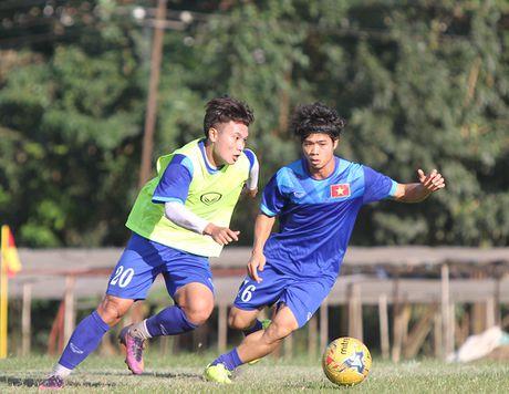Cong Phuong no luc luyen tap de hy vong duoc da chinh gap Malaysia - Anh 4