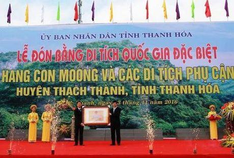 Thanh Hoa don bang di tich cap quoc gia dac biet hang Con Moong - Anh 1