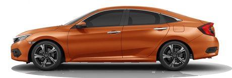 Honda Civic ban 1.0T ra mat tai Trung Quoc - Anh 4