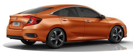 Honda Civic ban 1.0T ra mat tai Trung Quoc - Anh 5
