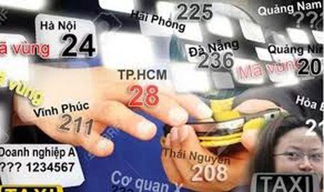 Se chuyen doi ma vung 13 tinh, thanh pho tu 11/2/2017 - Anh 1