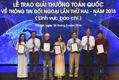 Khoi dong Giai thuong toan quoc ve thong tin doi ngoai nam 2016 - Anh 1