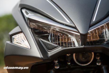 Chi tiet 'Sieu xe tay ga the thao' Yamaha NVX - Anh 13