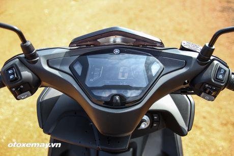Chi tiet 'Sieu xe tay ga the thao' Yamaha NVX - Anh 2