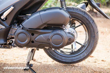 Chi tiet 'Sieu xe tay ga the thao' Yamaha NVX - Anh 4