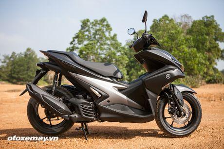 Chi tiet 'Sieu xe tay ga the thao' Yamaha NVX - Anh 6