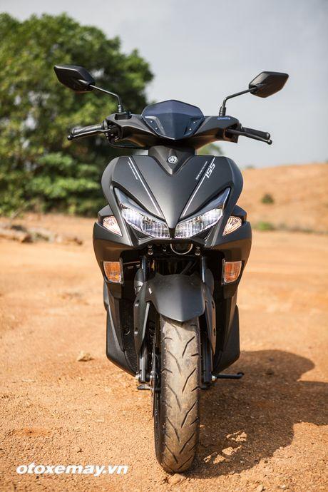 Chi tiet 'Sieu xe tay ga the thao' Yamaha NVX - Anh 7