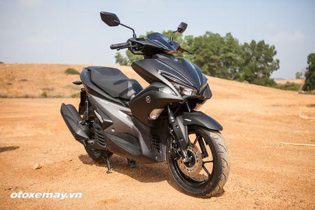 Chi tiet 'Sieu xe tay ga the thao' Yamaha NVX - Anh 8