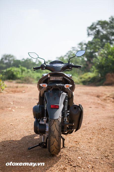 Chi tiet 'Sieu xe tay ga the thao' Yamaha NVX - Anh 9