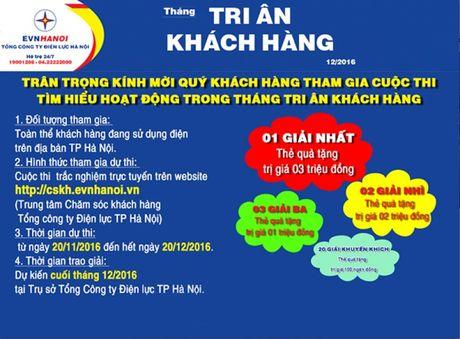 EVN HANOI phat dong cuoc thi Tri an khach hang - Anh 1