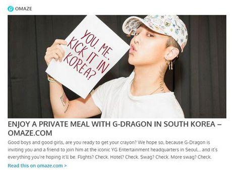 Co hoi gianh ve may bay mien phi den Seoul, o khach san 4 sao va an toi cung G-Dragon - Anh 1