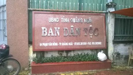 3 goi thau do Ban QLDA 33 (Quang Ngai) moi thau: Bat chap to cao, van mo 'dung gio'! - Anh 1