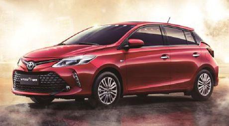 Toyota dua Vios 'lan san' phan khuc hatchback 5 cua - Anh 1