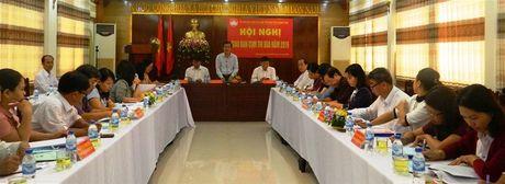 Quang Nam: Hoi nghi giao ban Cum thi dua 9 huyen mien nui nam 2016 - Anh 1