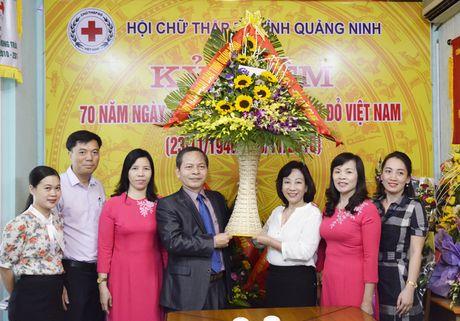 Lanh dao tinh Quang Ninh chuc mung Hoi Chu thap do - Anh 1