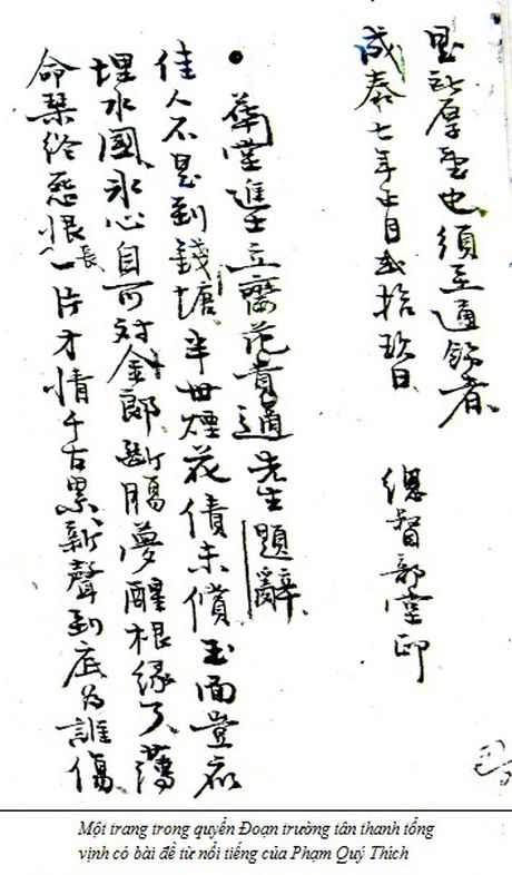 Tien si Pham Quy Thich: Nguoi thay cua si phu Bac Ha - Anh 1
